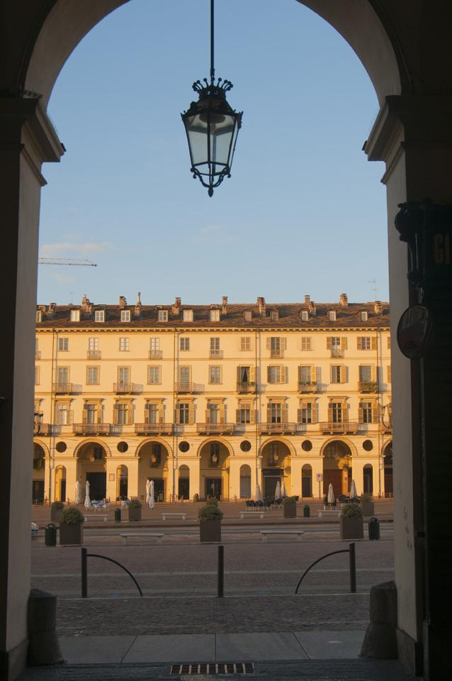 Italy, Piedmont, Turin, piazza Vittorio Veneto